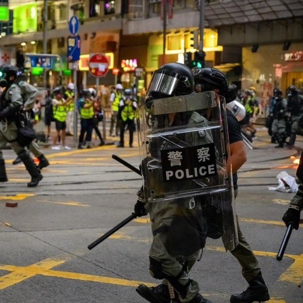 Hong Kong Human Rights Day Protest