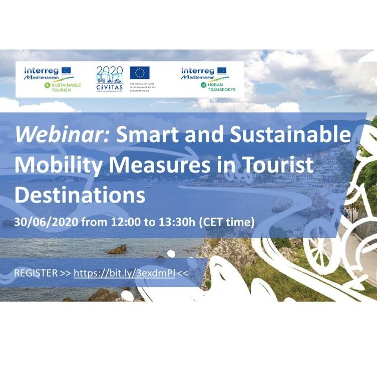 Webinar: Smart and Sustainable Mobility Measures in Tourist Destinations