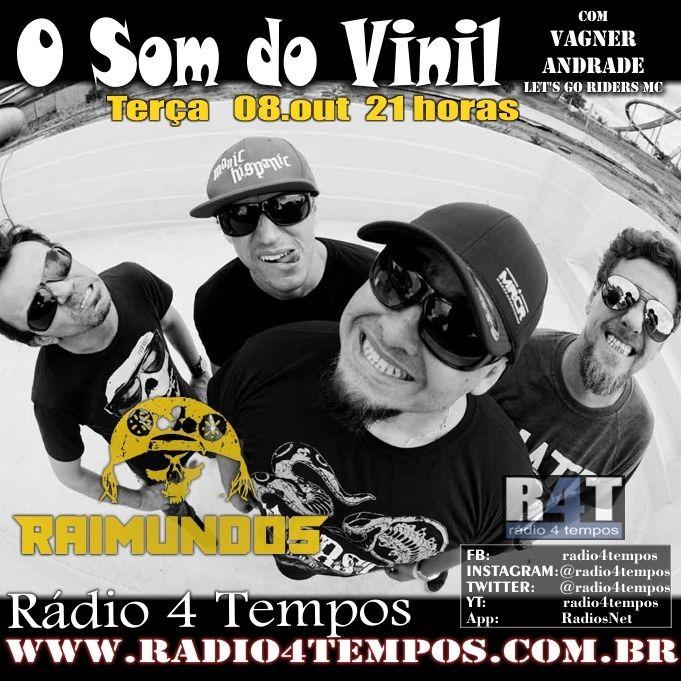 Rádio 4 Tempos - Som do Vinil 18:Rádio 4 Tempos