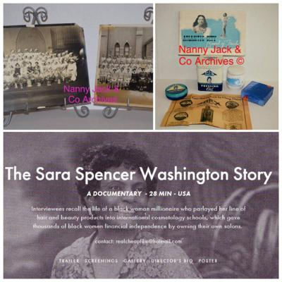 Episode 12: The Madame Sara Spencer Washington Story with Royston Scott