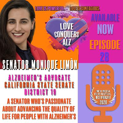 Senator Monique Limón, 19th Senate district, tackling the Alzheimer's crisis one Legislative Package at a time.