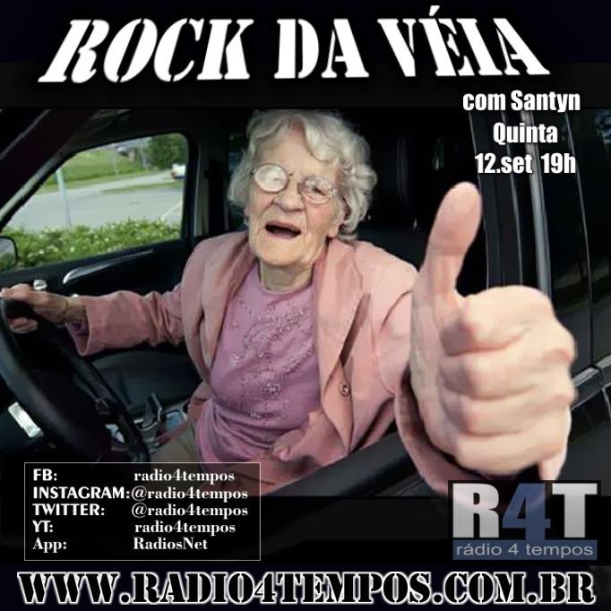 Rádio 4 Tempos - Rock da Véia 68:Rádio 4 Tempos