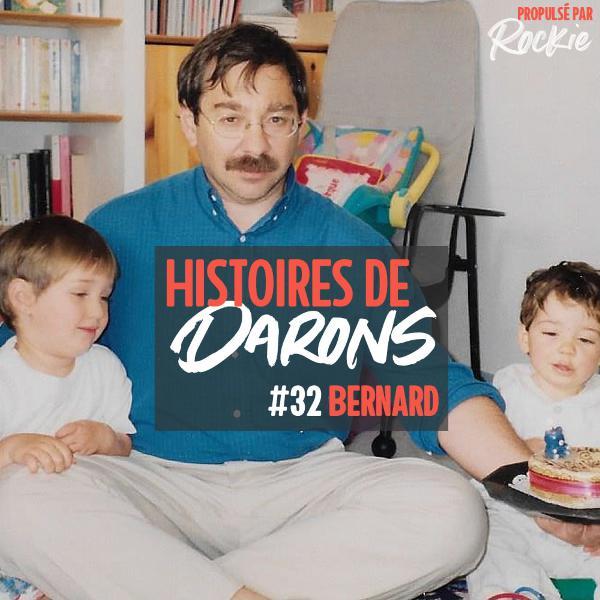 Bernard a élevé ses deux filles seul après le décès de sa femme