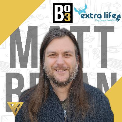 15 - LIVE From Waves E-Gaming: Extralife Game Day with Matt Bryan!