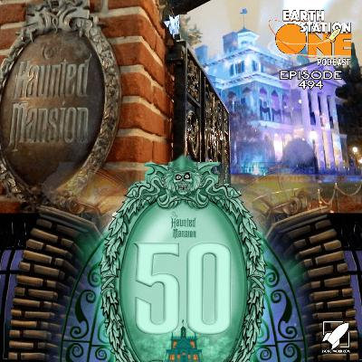 The Earth Station One Podcast – The 50th Anniversary of the Haunted Mansion
