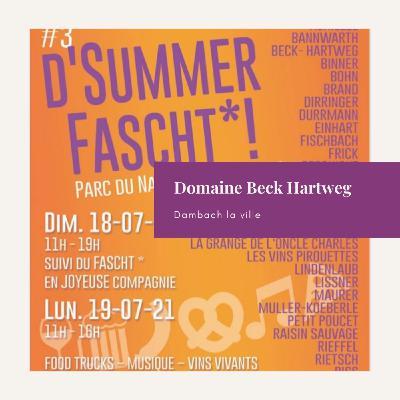 [Replay] Domaine Beck Hartweg à Dambach la ville (67)