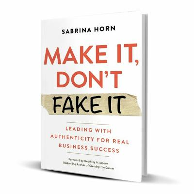 Podcast 881:  Make It, Don't Fake It with Sabrina Horn