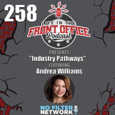 Industry Pathways with Andrea Williams, COO, College Football Playoff