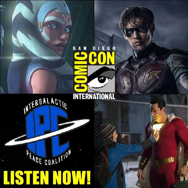 #199: San Diego Comic 2019 Trailers | The IPC Podcast LIVE