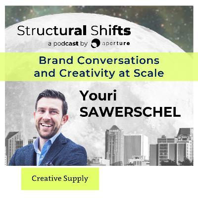 Brand Conversations and Creativity atScale, w/ Youri SAWERSCHEL