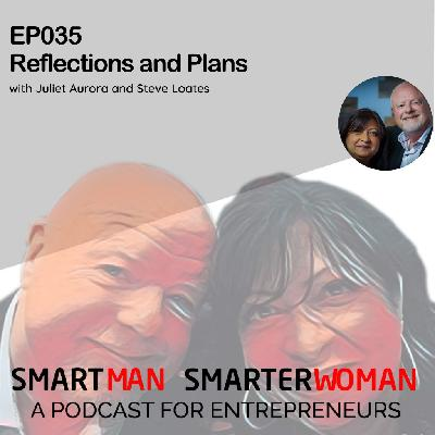 Episode 35: Juliet Aurora and Steve Loates - Reflections and Plans