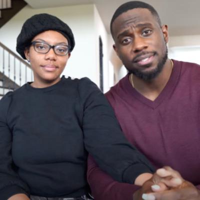 Couple Expert Derrick Jaxn Strong Arms Wife