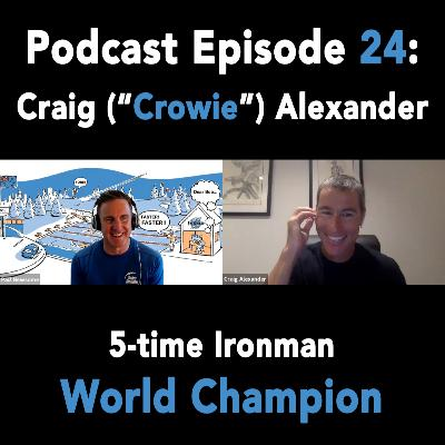 "Episode 24 - Craig (""Crowie"") Alexander, 5-time Ironman World Champion"