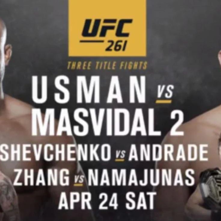 UFC 261 Usman vs Masvidal 2 Live Stream, Date, Result, how to Watch