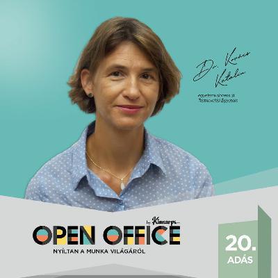 20. Mozgás munka közben-Tippek az ülőmunka felpezsdítéséhez-Dr. Kovács Katalin   Open Office Podcast