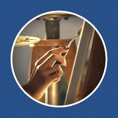 Pourquoi la salive est-elle utilisée pour restaurer les tableaux ?