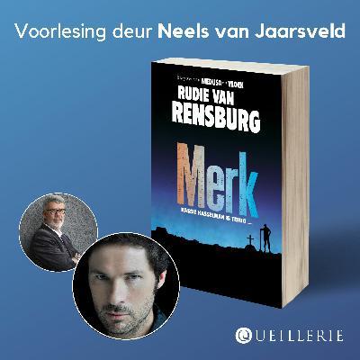 Neels van Jaarsveld lees voor uit Merk deur Rudie van Rensburg