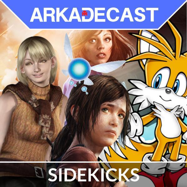 Arkade Cast 02 - Coadjuvantes e Sidekicks