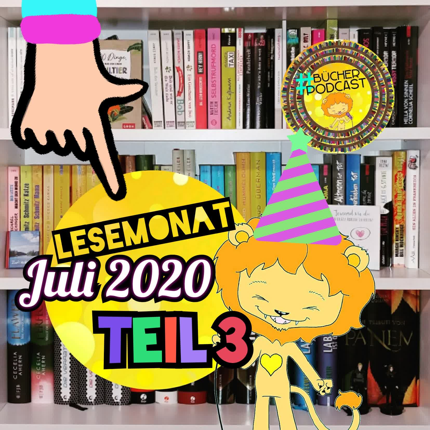 Lesemonat Juli 2020 - Teil 3
