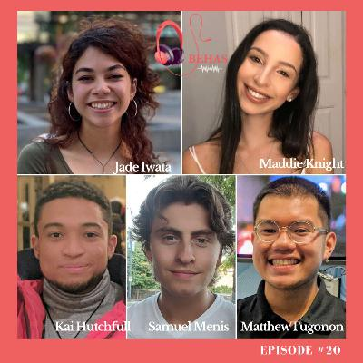 #20 - Life in the 2020s for 20-Year-Olds. 6 Questions for 5 People. Kai, Maddie, Samuel, Matthew & Jade