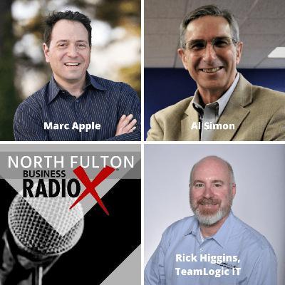 IT Help Atlanta with Rick Higgins:  Marc Apple, Forward Push, and Al Simon, Sandler Training by Simon Inc.