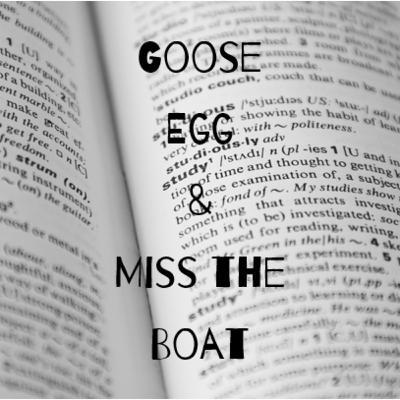 Episode 24: Goose Egg & Miss the Boat