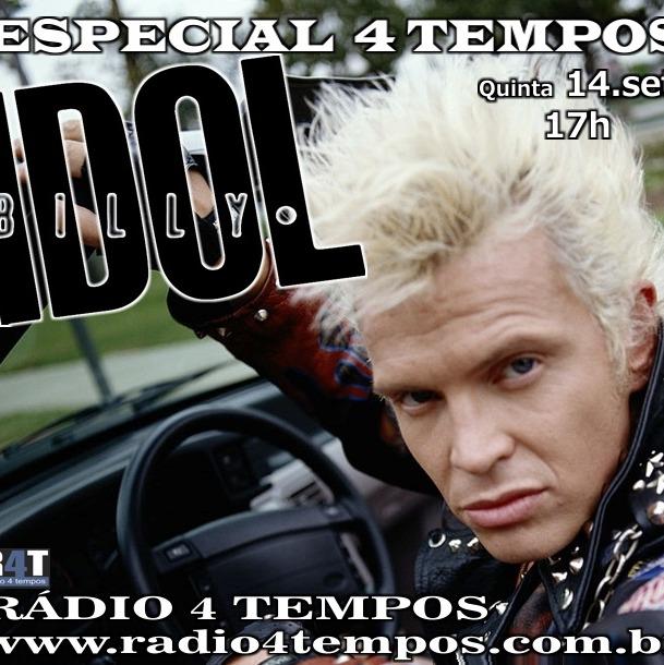 Rádio 4 Tempos - Especial 4 Tempos - Billy Idol