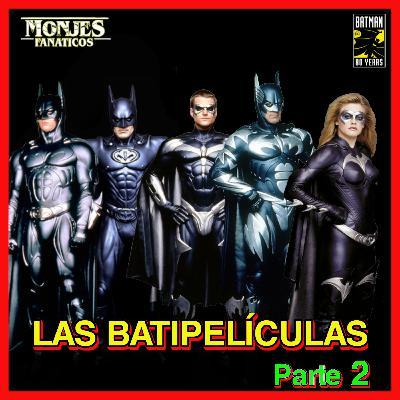 129. Todas las Películas de 🦇 Batman en orden cronológico + CURIOSIDADES | 2ª parte.