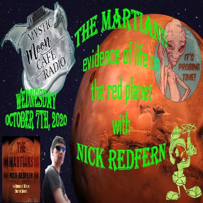 "Nick Redfern Talks ""The Martians"""