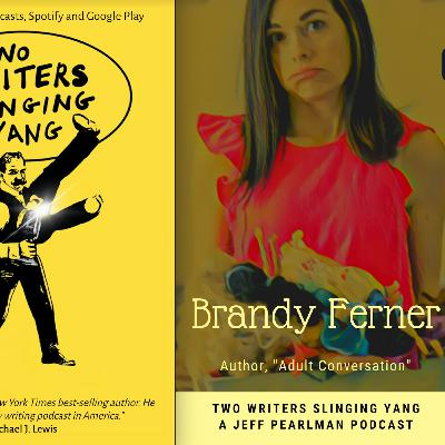 "Brandy Ferner: Author, ""Adult Conversation."""
