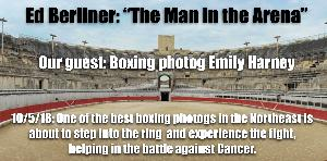 Emily Harney: Boxing Photog seeking to knock out Cancer in the ring