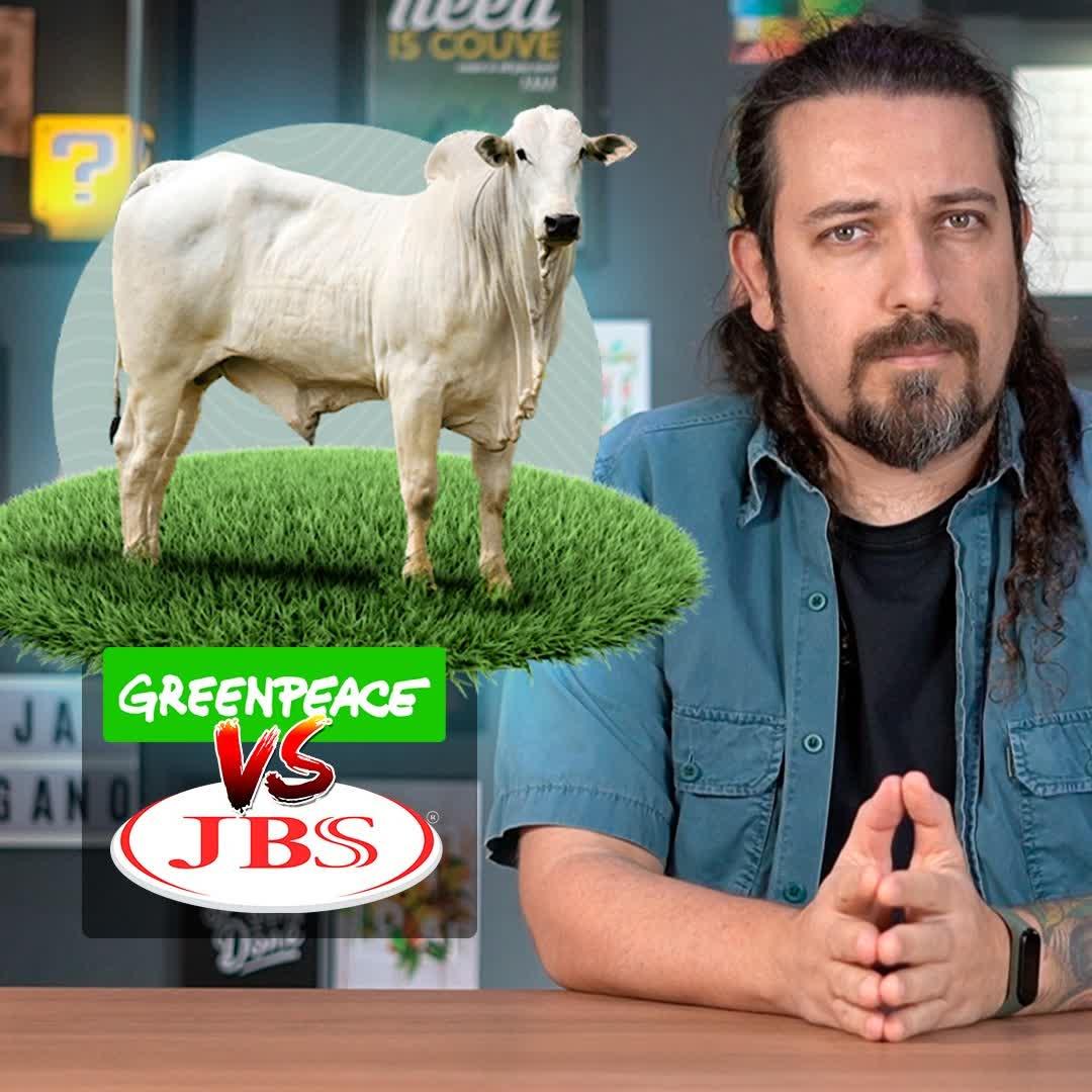 Greenpeace lança relatório contra JBS