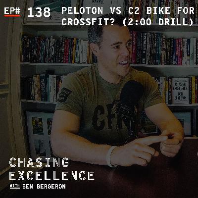 Peloton vs C2 Bike for CrossFit? (2:00 Drill #18)