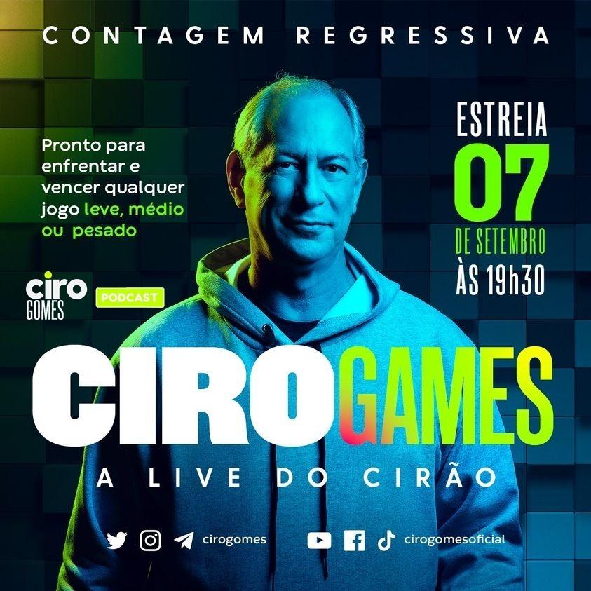 CIRO GAMES | 07/09/2021 com Tico Santa Cruz, Luiz Henrique Mandetta e Randolfe Rodrigues