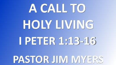 A Call to Holy Living
