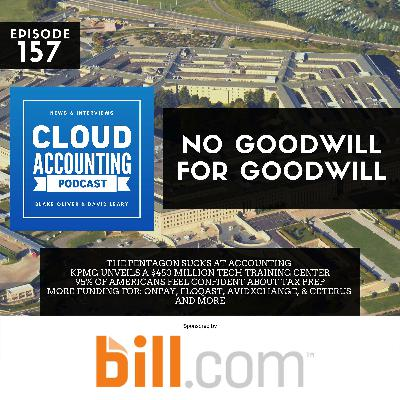 We've Got No Goodwill for Goodwill & the Pentagon Sucks at Accounting