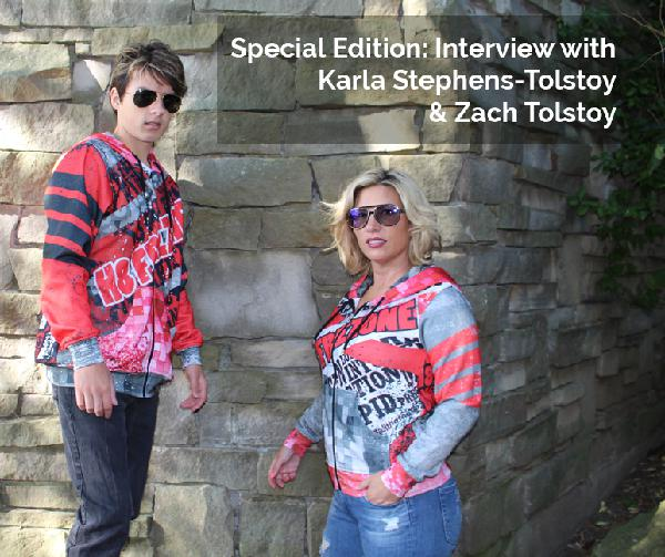 Episode 33: Special Edition: Interview with Karla Stephens-Tolstoy and Zach Tolstoy