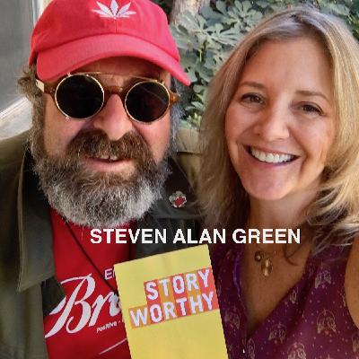 588 - An American in England with Comedian Steven Alan Green