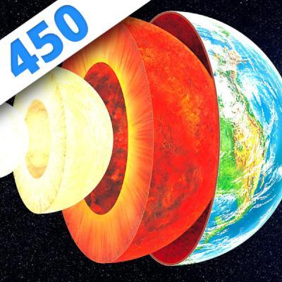 450 - Au coeur de la Terre