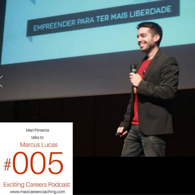 Marcus Lucas - Brazilian digital entrepreneur, teaches how to have digital freedom to thousands of Brazilians
