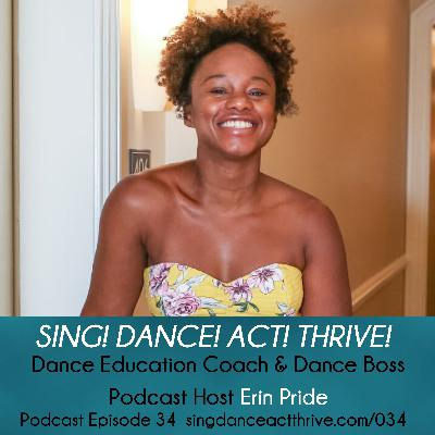 Dance Education Coach & Dance Boss Podcast Host Erin Pride