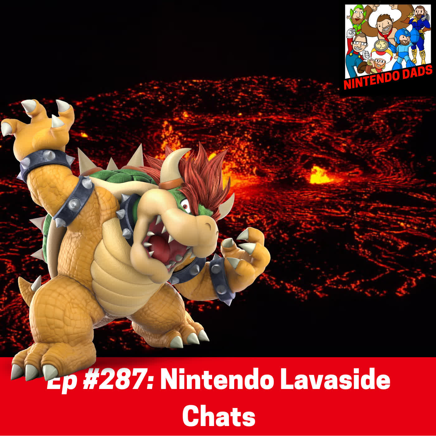 #287: Nintendo Lavaside Chats