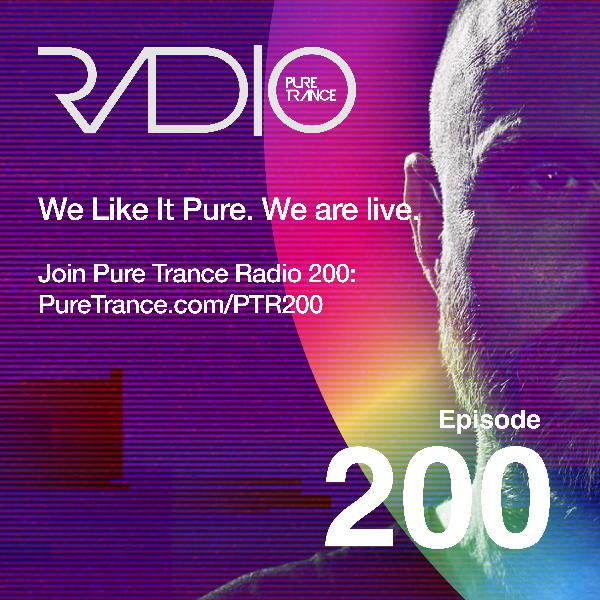 Pure Trance Radio Radio Podcast 200 - 5 Hour Special - Live from Amsterdam