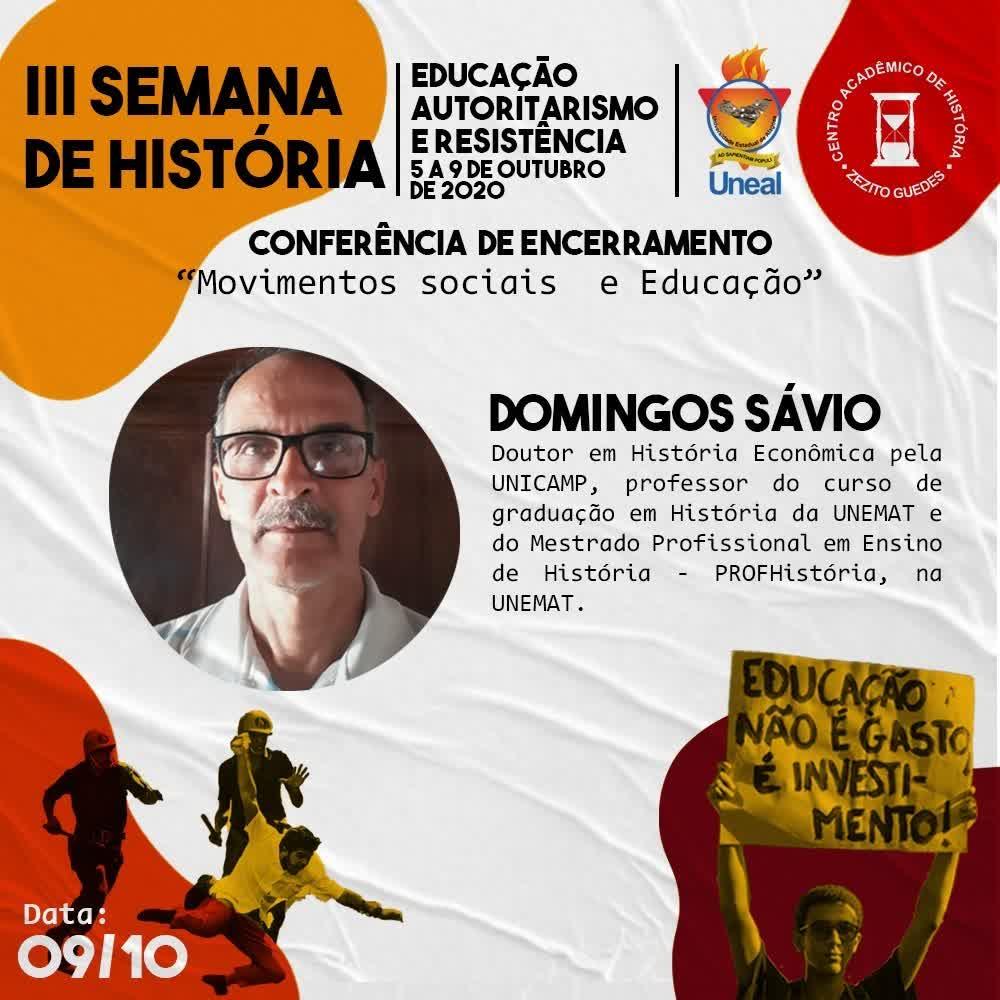 III Semana de História - 09_10_2020