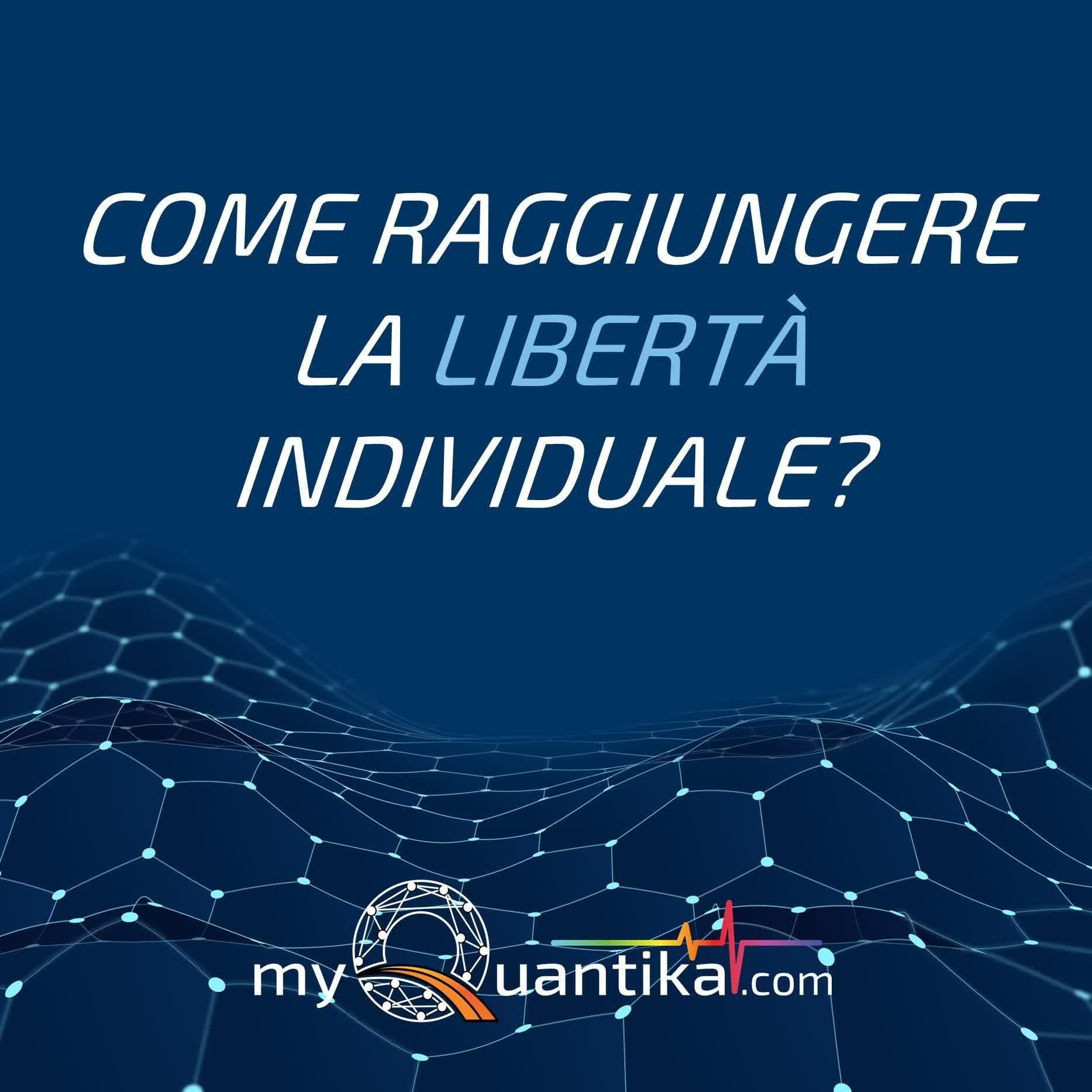 🦋 Stai cercando la libertà individuale? 🦅