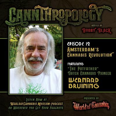 EP. 12 - AMSTERDAM'S CANNABIS REVOLUTION (with guest Wernard Bruining)