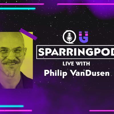 Philip VanDusen - live on Sparringpod from Verhaal Brand Design