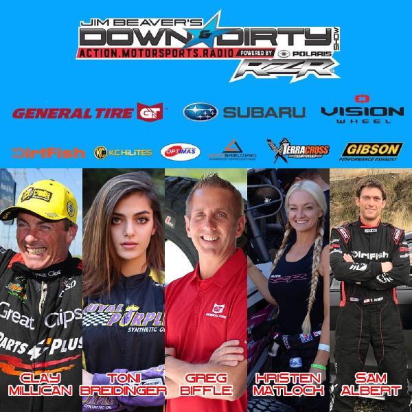 #340 Greg Biffle, Clay Millican, Kristen Matlock, Toni Breidinger, & Sam Albert On Air!