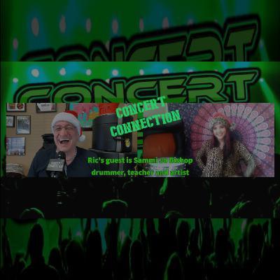 TCC Dec 23 2020 Ric's guest is Sammi Jo Bishop drummer, teacher and artist