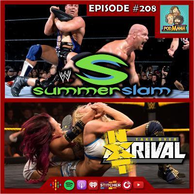 Podmania 208: Four Horsewoman 4-Way & Kurt Angle vs. Stone Cold Steve Austin Watchalong!